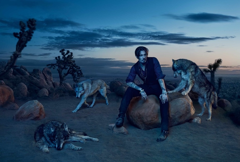 Dior Sauvage Fragrance Campaign 2018 Johnny Depp 004