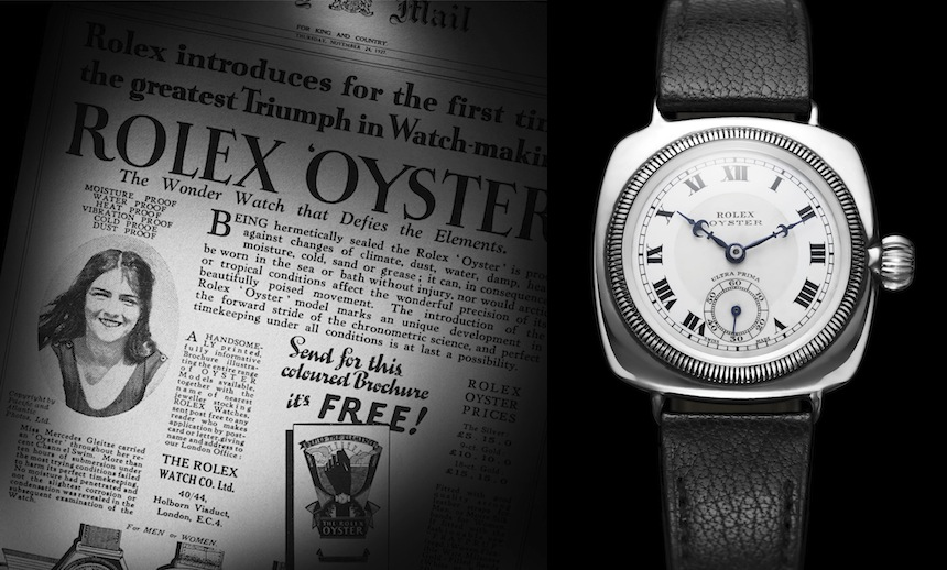Rolex Mercedes Gleitze Oyster Daily Mail 300dpi